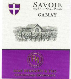 Savoie Gamay - Aimé Bernard & Fils - 2019 - Rouge