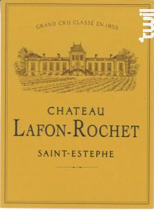 Château Lafon-Rochet - Château Lafon-Rochet - 2018 - Rouge