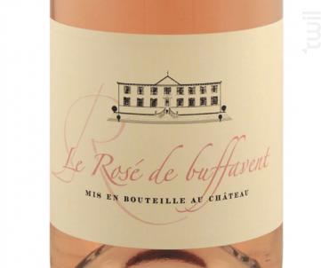 Le Rosé de Buffavent - Château de Buffavent - 2017 - Rosé
