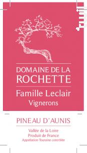 Touraine Pineau d'Aunis - Domaine de la Rochette - 2018 - Rosé