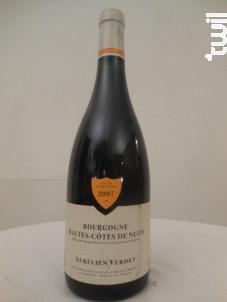 Bourgogne-Hautes-Côtes-de-Nuits - Domaine Aurélien Verdet - 2007 - Rouge