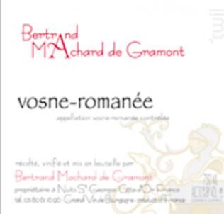 Vosne-Romanée - Domaine Machard de Gramont - 2013 - Rouge