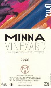 Minna - VILLA MINNA VINEYARD - 2009 - Rouge