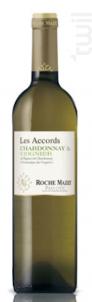 Les Accords Chardonnay & Viognier - Roche Mazet - 2018 - Blanc