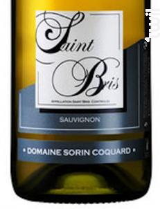 Saint-Bris - Domaine Sorin Coquard - 2019 - Blanc