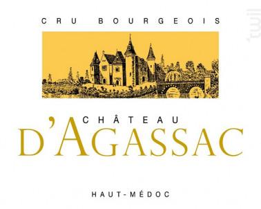 Château d'Agassac - Château d'Agassac - 2008 - Rouge