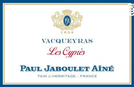Vacqueyras les Cypres - Paul Jaboulet Aîné - 2016 - Rouge