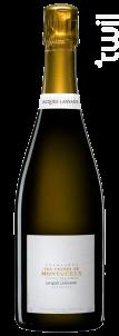 Les Vignes de Montgueux Extra Brut Blanc de Blancs - Champagne Jacques Lassaigne - Non millésimé - Effervescent