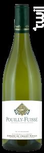 Pouilly Fuissé - Domaine du Chalet Pouilly - 2017 - Blanc