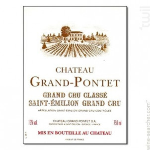 Château Grand Pontet - Château Grand-Pontet - 2012 - Rouge