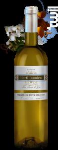 LES PIERRES DE GRÉS - Domaine Berthoumieu - 2013 - Blanc