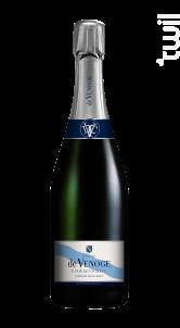 Cordon Bleu Coffret Prestige + 2 Flutes - Champagne de Venoge - Non millésimé - Effervescent