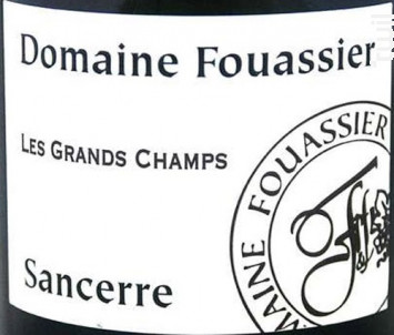 Les Grands Champs - Domaine Fouassier - 2018 - Blanc