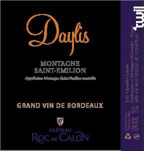 Daylis du Château Roc de Calon - Château Roc de Calon - 2019 - Rouge