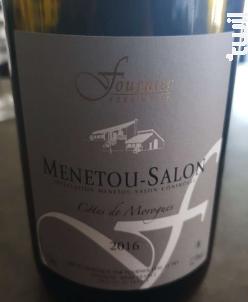 Menetou-Salon Côtes de Morogues - FOURNIER Père & Fils - 2016 - Blanc