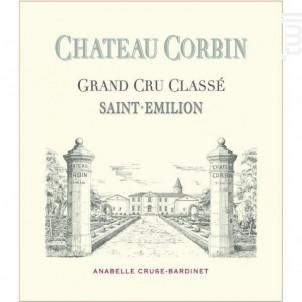 Château Corbin - Château Corbin - 2018 - Rouge