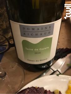Terre de Galets - Domaine Richaud - 2016 - Rouge