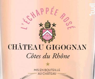 L'Echappée Rosé - Château Gigognan - 2018 - Rosé
