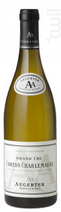 Corton-Charlemagne Grand Cru - Jean Luc et Paul Aegerter - 2012 - Blanc