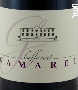 GAMARET - Château de Buffavent - 2018 - Rouge