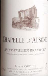 Chapelle d'Ausone - Château Ausone - 2007 - Rouge