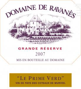 Le Prime Verd - Domaine de Ravanès - 2007 - Rouge