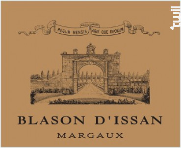 Blason d'Issan - Château d'Issan - 2013 - Rouge