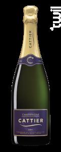 Dry - Champagne Cattier - Non millésimé - Effervescent