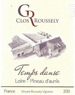 Temps Danse - Domaine du Clos Roussely - 2018 - Rosé
