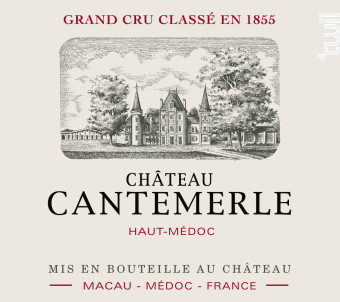 Château Cantemerle - Château Cantemerle - 2014 - Rouge