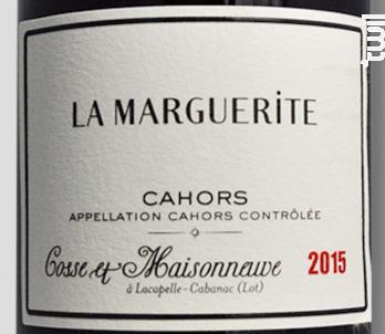 La Marguerite - Domaine Cosse Maisonneuve - 2015 - Rouge