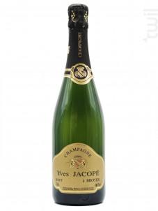 Champagne Yves Jacopé  - Brut Tradition - Yves Jacope - Non millésimé - Effervescent