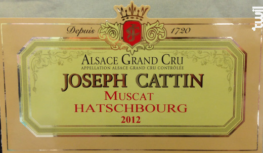 Muscat - Maison Joseph Cattin - 2017 - Blanc