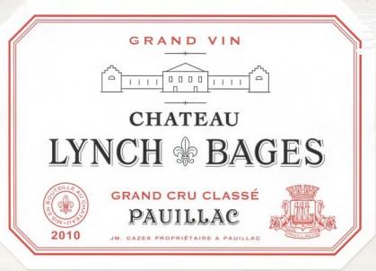 Château Lynch-Bages - Château Lynch-Bages - 2010 - Rouge