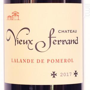 Château Vieux Ferrand - Château de Ferrand - 2017 - Rouge