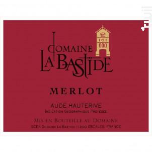 Merlot - Chateau La Bastide - 2017 - Rouge