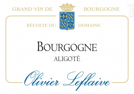 Bourgogne Aligoté - Maison Olivier Leflaive - 2013 - Blanc