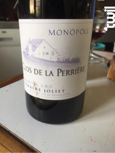 Clos de la Perrière Monopole - Domaine Joliet - 1996 - Rouge