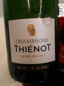 Champagne Thiénot Blanc de Blancs - Champagne Thiénot - Non millésimé - Effervescent
