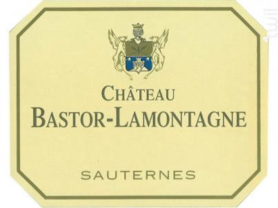 Château Bastor-Lamontagne - Château Bastor-Lamontagne - 2018 - Blanc