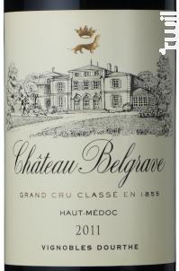Château Belgrave - Château Belgrave - 2011 - Rouge