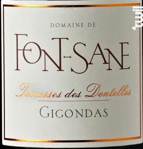 Terrasses des Dentelles - Domaine de Font-Sane - 2016 - Rouge