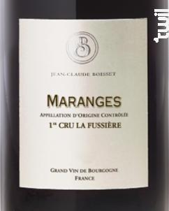 Maranges 1er cru La Fuissière - Jean-Claude Boisset - 2016 - Rouge
