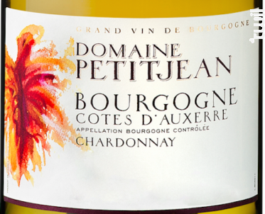 Bourgogne Côtes d'Auxerre Terre Blanche - Domaine Petitjean - 2018 - Blanc