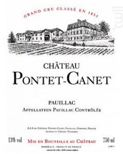 Château Pontet-Canet - Château Pontet-Canet - 2017 - Rouge