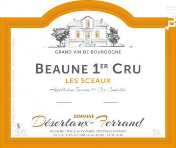 Beaune Premier Cru Les Sceaux - Domaine Désertaux-Ferrand - 2016 - Rouge