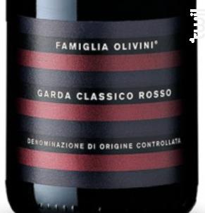 Garda Classico Rosso - Famiglia Olivini - 2016 - Rouge