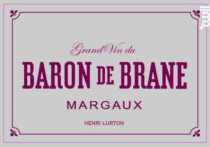 Baron de Brane - Château Brane Cantenac - 1998 - Rouge