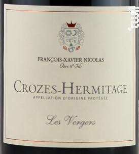 Les Vergers - Maison François-Xavier Nicolas - 2017 - Rouge