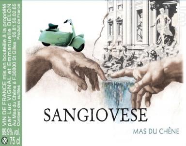 Sangiovese - Mas du Chêne - 2018 - Rouge